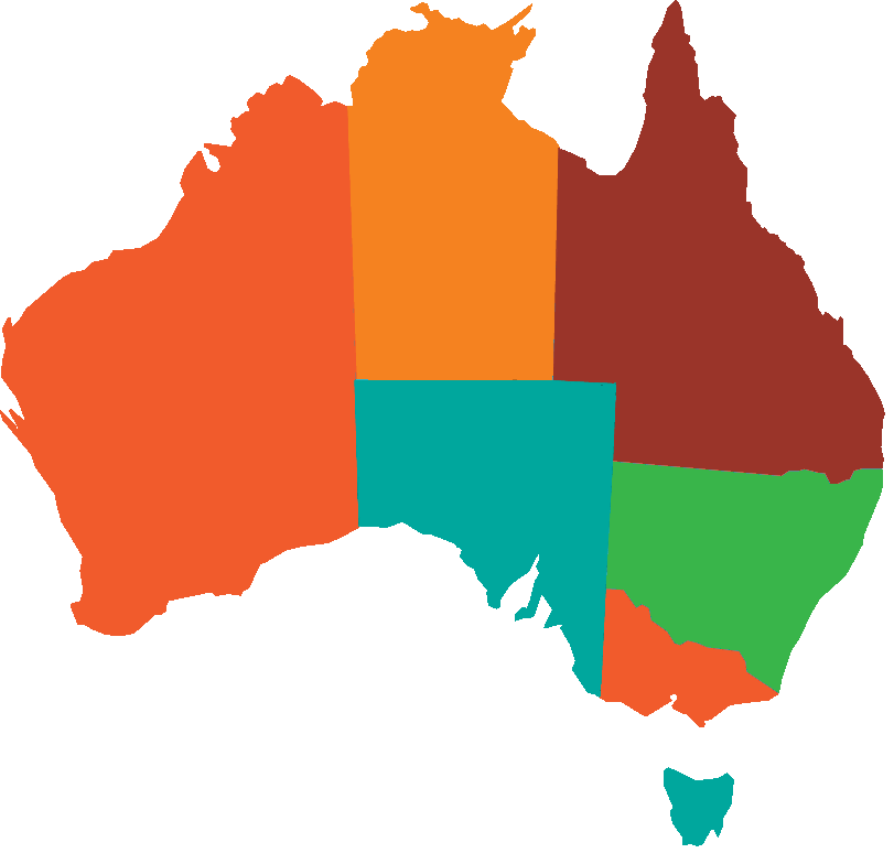 Australia Interactive Map.Map Of Australia Family Matters