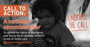Endorsement for a national commissioner for Aboriginal and Torres Strait Islander children and young people